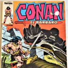 Cómics: CONAN EL BARBARO Nº 3 - ENTRE LA SOMBRA Y EL ESCORPION Y LA EXTRAÑA Y ALTA TORRE EN LA NIEBLA . Lote 195377508