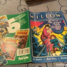 Cómics: WILLOW - VERSIÓN OFICIAL EN COMIC - 1988 FORUM. Lote 195413297
