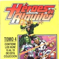 Cómics: HÉROES DE ALQUILER. FORUM. TOMO 4: DEL 15 AL 19. Lote 195480371