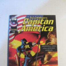 Cómics: CAPITAN AMERICA VOL. 3 Nº 11 FORUM MUCHOS MAS A LA VENTA MIRA TUS FALTAS CX44. Lote 195501956