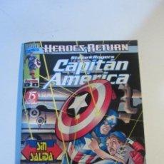 Cómics: CAPITAN AMERICA HEROES RETURN VOL. V.4 Nº 2 FORUM MUCHOS MAS A LA VENTA MIRA TUS FALTAS CX44. Lote 195503323