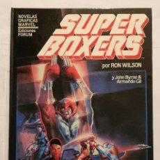 Cómics: NOVELAS GRAFICAS MARVEL VOL. 1 # 5 (FORUM) - SUPERBOXERS - 1984. Lote 195540681