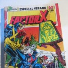 Comics: FACTOR X ESPECIAL VERANO 1989 FORUM MUCHOS MAS AL A VENTA MIRA TUS FALTAS CX44. Lote 195571705