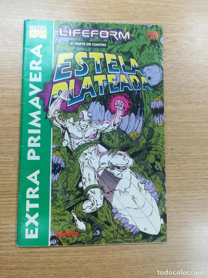 ESTELA PLATEADA EXTRA PRIMAVERA 1991 - LIFEFORM #4 (Tebeos y Comics - Forum - Silver Surfer)