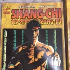 Cómics: SHANG CHI MASTER OF 1-3 + TESOROS MARVEL IMPECABLES. Lote 195580815