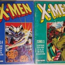 Cómics: X-MEN RETAPADO TOMO 4 Y 5 - MARVEL FORUM. Lote 195675701