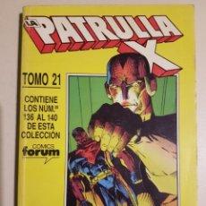 Cómics: LA PATRULLA-X RETAPADO TOMO 21 - 136 137 138 139 140 - MARVEL FORUM. Lote 195676452