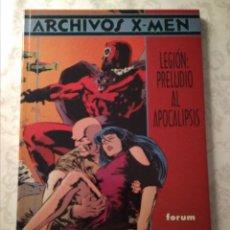 Cómics: ARCHIVOS X-MEN: LEGIÓN, PRELUDIO AL APOCALIPSIS. Lote 195771303