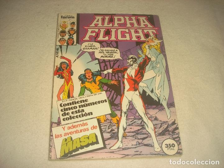 ALPHA FLIGHT , RETAPADO, CONTIENE 5 NUMEROS, DEL 27 AL 31 (Tebeos y Comics - Forum - Retapados)