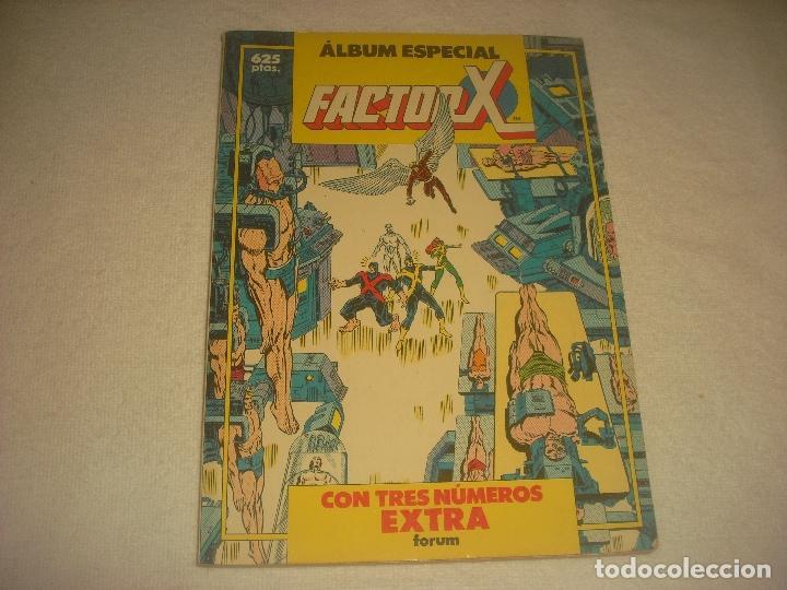 FACTOR X. ALBUM ESPECIAL , CON TRES NUMEROS EXTRAS. (Tebeos y Comics - Forum - Factor X)