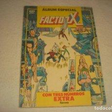 Cómics: FACTOR X. ALBUM ESPECIAL , CON TRES NUMEROS EXTRAS.. Lote 196012848