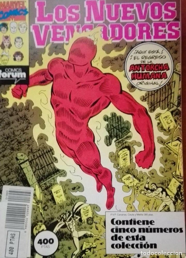 LOS NUEVOS VENGADORES TOMO FORUM NºS 46 A 50 (Tebeos y Comics - Forum - Retapados)