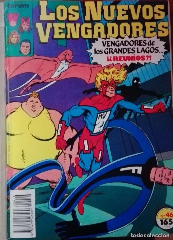 Cómics: Los Nuevos VENGADORES Tomo Forum Nºs 46 a 50 - Foto 2 - 196044230