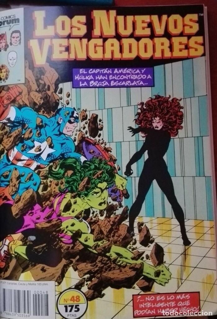 Cómics: Los Nuevos VENGADORES Tomo Forum Nºs 46 a 50 - Foto 4 - 196044230