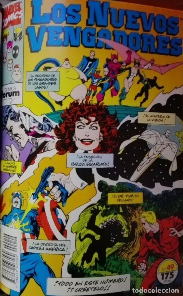 Cómics: Los Nuevos VENGADORES Tomo Forum Nºs 46 a 50 - Foto 5 - 196044230