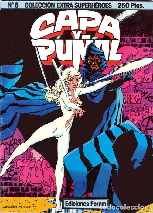 COLECCIÓN EXTRA SUPERHÉROES VOL.1 Nº 6 - FORUM. CAPA Y PUÑAL. (Tebeos y Comics - Forum - Spiderman)