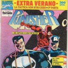 Cómics: PUNISHER - LA TACTICA VON STRUCKER .2ª PARTE - EXTRA VERANO - FORUM . Lote 196187563