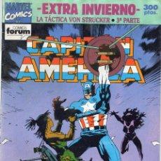 Comics : CAPITAN AMERICA - LA TACTICA VON STRUCKER - 3º PARTE - EXTRA INVIERNO - FORUM . Lote 196193343