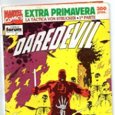 Cómics: DAREDEVIL - LA TACTICA VON STRUCKER . 1º PARTE - EXTRA PRIMAVERA - FORUM. Lote 196194198