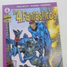 Comics: LOS 4 FANTÁSTICOS VOL 4 Nº 4 FORUM CARLOS PACHECO MUCHOS MAS A LA VENTA, MIRA TUS FALTAS CX44. Lote 196243625