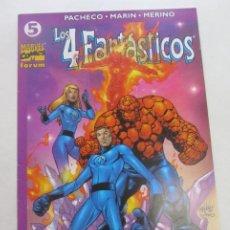 Comics: LOS 4 FANTÁSTICOS VOL 4 Nº 5 FORUM CARLOS PACHECO MUCHOS MAS A LA VENTA, MIRA TUS FALTAS CX44. Lote 196243798