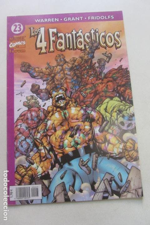 LOS 4 FANTÁSTICOS VOL 4 Nº 23 FORUM MUCHOS MAS A LA VENTA, MIRA TUS FALTAS CX44 (Tebeos y Comics - Forum - 4 Fantásticos)
