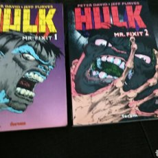 Cómics: HULK MR. FIXIT TOMOS 1 Y 2 FORUM BUEN ESTADO. Lote 196399572