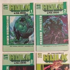 Cómics: PACK 4 TOMOS HULK DE PAUL JENKINS + HULK LOS PERROS DE LA GUERRA FORUM BUEN ESTADO. Lote 196401727