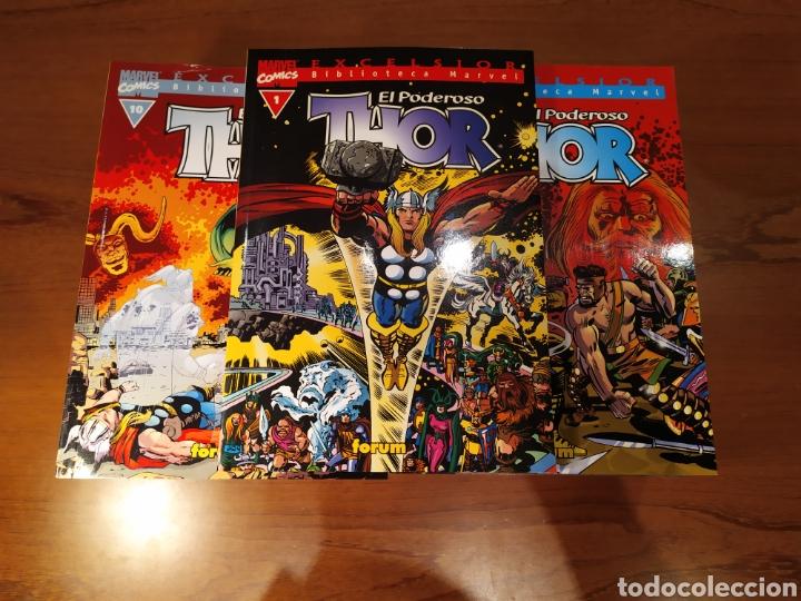 EL PODEROSO THOR. VOLUM 1 AL 17. EXCELSIOR BIBLIOTECA. FORUM (Tebeos y Comics - Forum - Thor)