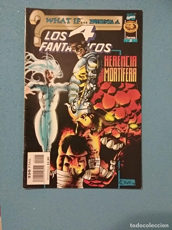 WHAT IF... PRESENTA Nº 2: LOS 4 FANTÁSTICOS «HERENCIA MORTÍFERA» - ED. FORUM (Tebeos y Comics - Forum - 4 Fantásticos)