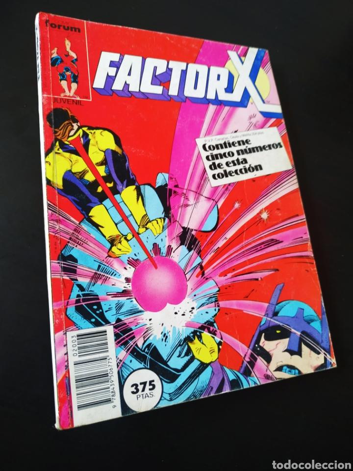 MUY BUEN ESTADO FACTOR X 11 AL 15 RETAPADO FORUM (Tebeos y Comics - Forum - Factor X)