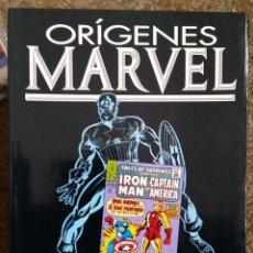 Cómics: ORIGENES MARVEL NUMERO 9. CAPITAN AMERICA POR STAN LEE Y JACK KIRBY. Lote 197052775