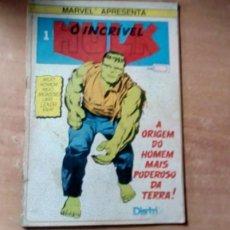 Cómics: HULK N. 1 1980 EDIC. PORTUGUEZ COLOR TIPO COMICS NOVARO.. Lote 197061990