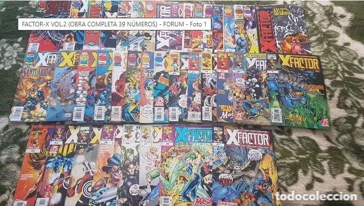 X-FACTOR VOL.2 (OBRA COMPLETA 39 NÚMEROS) - FORUM (Tebeos y Comics - Forum - Factor X)