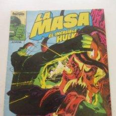 Comics: LA MASA, EL INCREÍBLE HULK VOL I Nº 39 FORUM MUCHOS MAS ALA VENTA MIRA TUS FALTAS E8. Lote 197115520