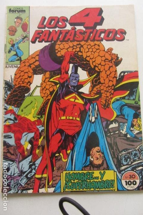 4 FANTASTICOS VOL. 1 Nº 30 FORUM MUCHOS MAS A LA VENTA MIRA TUS FALTAS E8 (Tebeos y Comics - Forum - 4 Fantásticos)