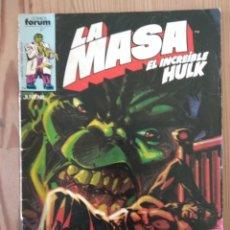 Cómics: LA MASA-EL INCREÍBLE HULK NÚMERO 31. Lote 197203807