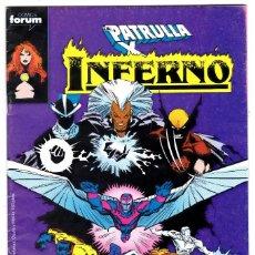 Cómics: PATRULLA X INFERNO. Nº 15. FORUM. Lote 197207907
