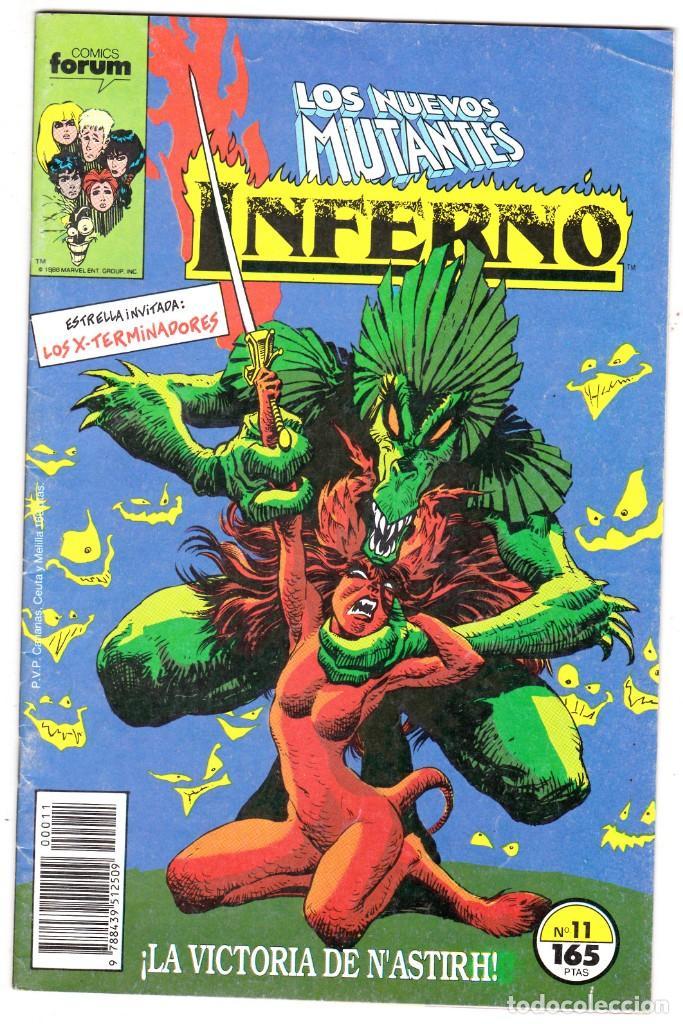 INFERNO Nº 11 CON LOS NUEVO MUTANTES - MARVEL - FORUM - (Tebeos y Comics - Forum - Nuevos Mutantes)