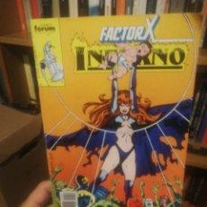 Cómics: FACTOR X. INFIERNO N. 14. Lote 197377886