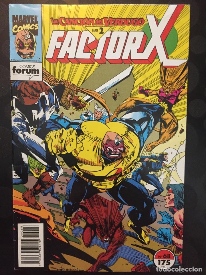 FACTOR X VOL.1 N.68 LA CANCIÓN DEL VERDUGO PARTE II . ( 1988/1995 ). (Tebeos y Comics - Forum - Factor X)