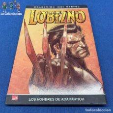 Cómics: LOBEZNO - 100% MARVEL - LOS HOMBRES DE ADAMANTIUM. Lote 197449283