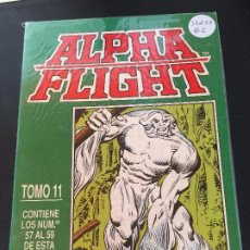 Fumetti: FORUM RETAPADO ALPHA FLIGHT DEL 57 AL 59 BUEN ESTADO. Lote 197634141