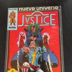 Fumetti: FORUM RETAPADO JUSTICE NUMEROS DEL 1 AL 5 BUEN ESTADO. Lote 197730210