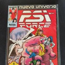 Fumetti: FORUM RETAPADO PSI FORCE NUMEROS DEL 1 AL 5 BUEN ESTADO. Lote 197730237