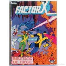 Cómics: FACTOR X VOL 1 Nº 1 / MARVEL / FORUM 1988 (BOB LAYTON & JACKSON GUICE). Lote 197831455