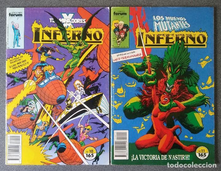 LOTE COMICS LOS NUEVOS MUTANTES INFERNO (Tebeos y Comics - Forum - Nuevos Mutantes)