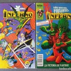 Cómics: LOTE COMICS LOS NUEVOS MUTANTES INFERNO. Lote 197898518