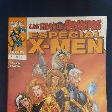 Cómics: X-MEN: ESPECIAL LAS ERAS DE APOCALIPSIS - FORUM. Lote 197985878