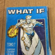 Fumetti: FORUM RETAPADOS WHAT IF NUMEROS DEL 31 AL 35 BUEN ESTADO. Lote 198029580